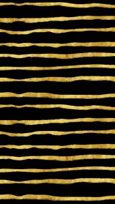 Gold and Black Torn Stripes Faux Foil Metallic Background Pattern Texture