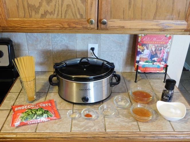 Lemon Chicken Spaghetti - step 1
