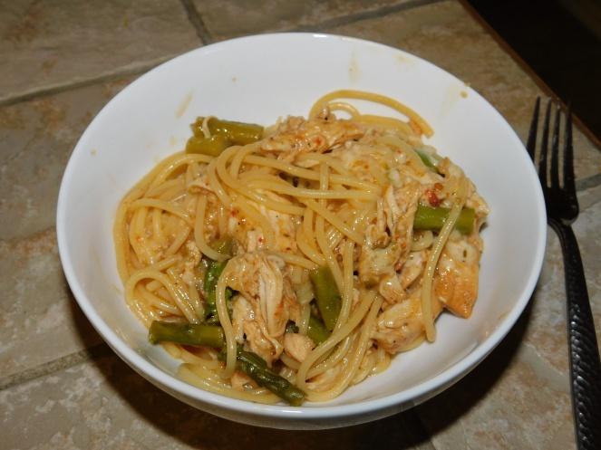 Lemon Chicken Spaghetti - step 10