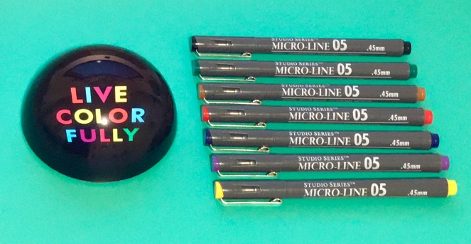 Studio series microline pens