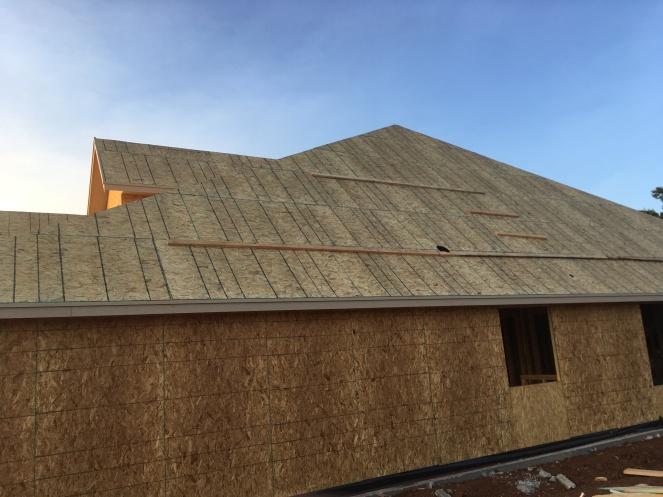 Roof closeup
